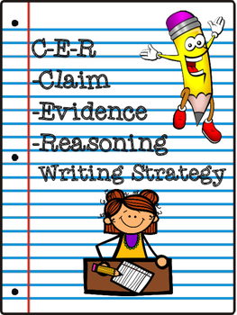 CER Writing Strategy: Claim-Evidence-Reasoning Binder Cover