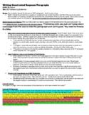 CERC - Using Evidence