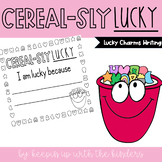 CEREAL-SLY LUCKY! Lucky Charms Writing Craft
