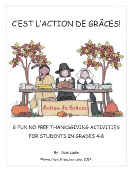 C'EST L'ACTION DE GRACES! (US version)