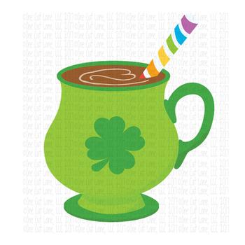 CF122 Irish Coffee Cut File