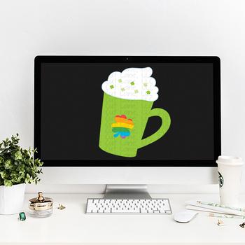 CF123 Irish Coffee Cut File