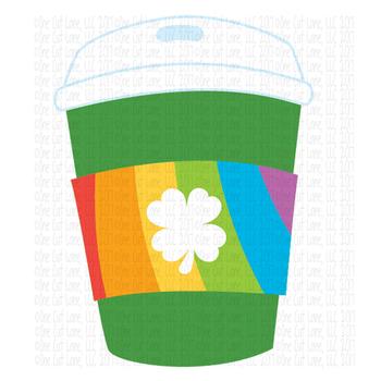 CF124 Irish Coffee Cut File