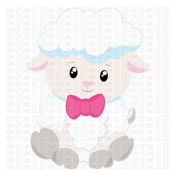 CF148 Easter Lamb Cut File