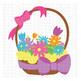 CF150 Easter Flower Basket