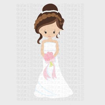 CF151 Wedding Bride Cut File