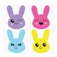 CF152 Easter Bunny Emojis Cut File