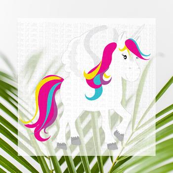 CF162 Unicorn Cut File