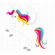 CF163 Unicorn Cut File