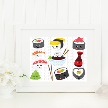 CF186-196 Kawaii Sushi Cut File Bundle