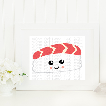 CF189 Sushi Cut File