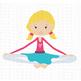 CF191 Yoga Girl SVG Cut File