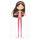 CF192 Yoga Girl SVG Cut File