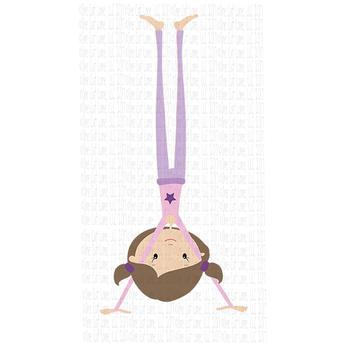 CF193 Yoga Girl in Handstand