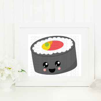 CF196 Kawaii Sushi Cut File