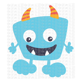 CF196 Monster SVG Cut File