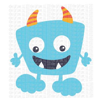 CF196 Monster SVG Cut File
