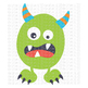 CF197 Monster SVG Cut File
