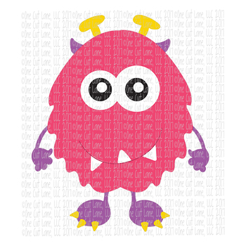 CF200 Monster SVG Cut File