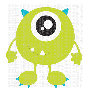 CF201 Monster SVG Cut File