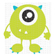 CF201 Monster SVG Cut File