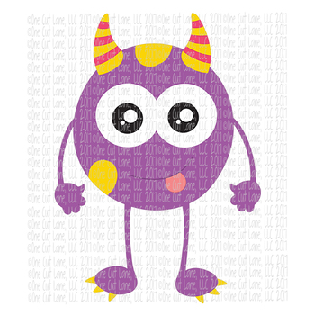 CF204 Monster SVG Cut File