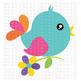 CF207 Spring Bird SVG Cut File