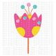 CF212 Spring Flower SVG Cut File