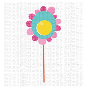 CF213 Spring Flower SVG Cut File