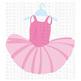 CF229 Ballet Tutu SVG/Cut File