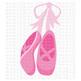 CF230 Ballet Point Shoes SVG/Cut File