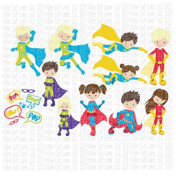 CF231-241 Super Hero SVG/Cut File Bundle