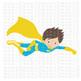 CF233 Super Hero SVG/Cut File