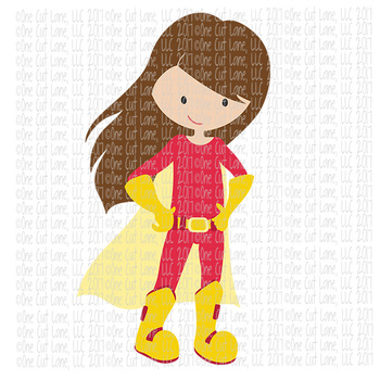 CF236 Super Hero SVG/Cut File