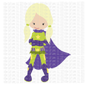 CF238 Super Hero SVG/Cut File