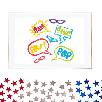 CF241 Super Hero Masks & Signs SVG/Cut File