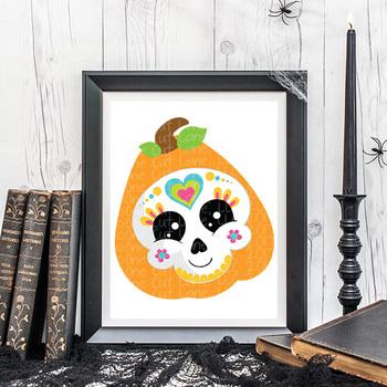CF250 Halloween Skull SVG Cut File