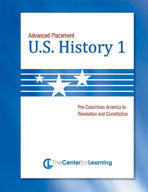 Advanced Placement U.S. History, Book 1 Lesson Plans