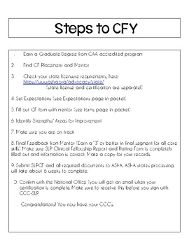 CFY Information & Forms