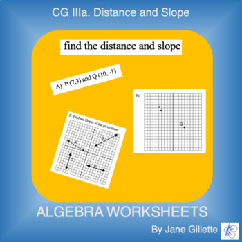 CG III: Distance and Slope