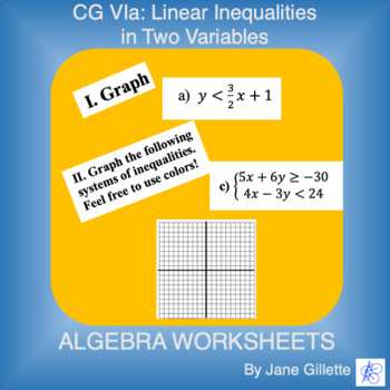 CG Via: Linear Inequalities in Two Variables