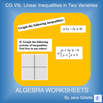 CG Vib: Linear Inequalities in Two Variables