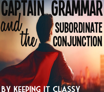 CG and the Subordinate Conjunction: A Readers' Theater, Prezi, & Foldable