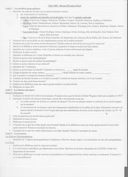 CGC1FD Exam Review & Answers