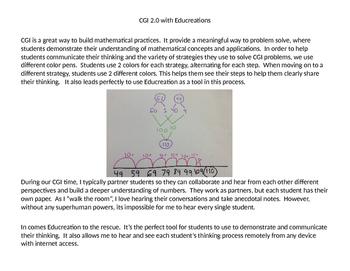 CGI 2.0 Integrating Educreations