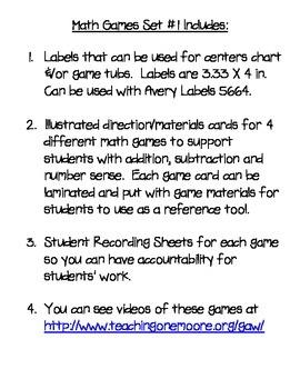 CGI Math Games for 1st-3rd Grade
