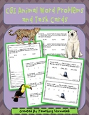 CGI Animal Word Problems and Task Cards