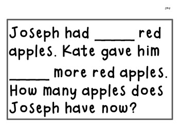CGI Apple Word Problems