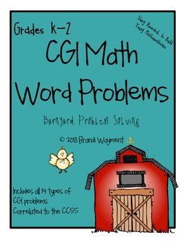 CGI Barnyard Word Problems