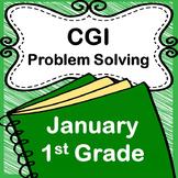 CGI January Math Story Problems, Grade 1